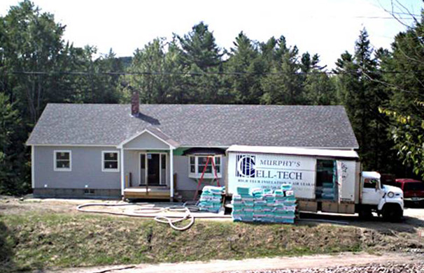 Bishop Street Home project - Murphy's CELL-TECH, St Johnsbury, VT