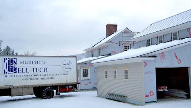 Brook Road Home project - Murphy's CELL-TECH, St Johnsbury, VT