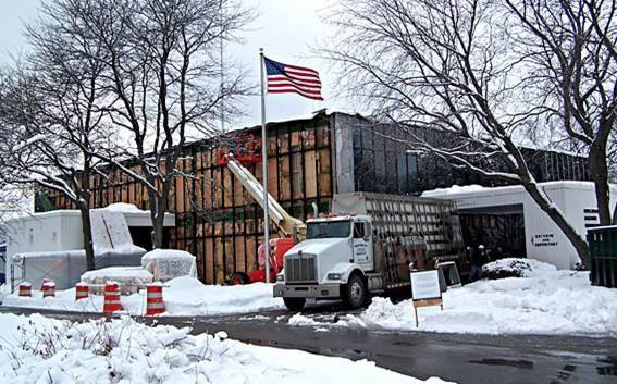Burlington Electric Department Building project - Murphy's CELL-TECH, St Johnsbury, VT