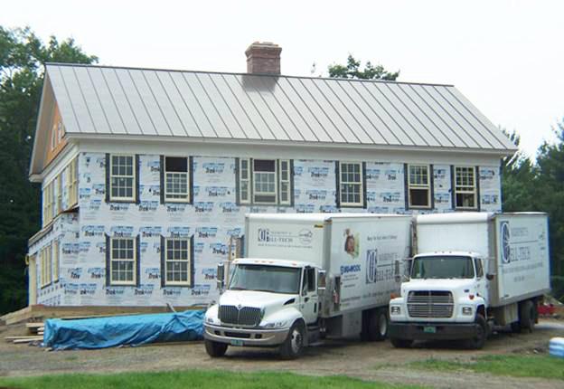Claflin Road Home project - Murphy's CELL-TECH, St Johnsbury, VT