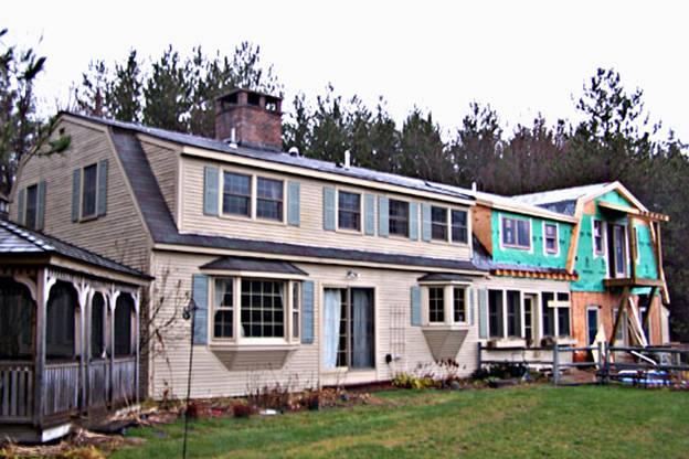 Deer Run Road Home project - Murphy's CELL-TECH, St Johnsbury, VT