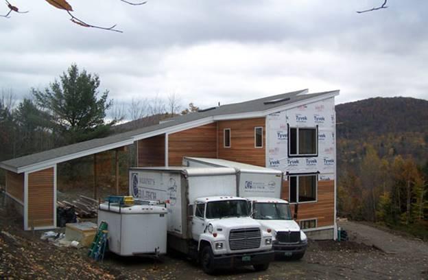 Deerbrook Farm Road Home project - Murphy's CELL-TECH, St Johnsbury, VT