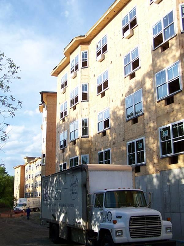 Emerson Garden Apartments project - Murphy's CELL-TECH, St Johnsbury, VT