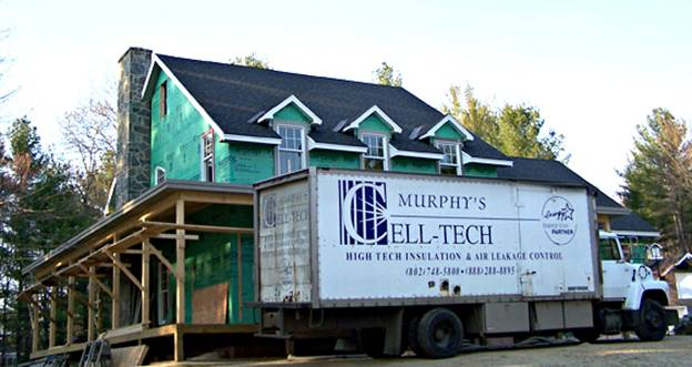 Gleason Road Home project - Murphy's CELL-TECH, St Johnsbury, VT