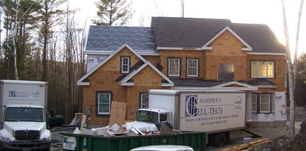 Kinney Road Home project - Murphy's CELL-TECH, St Johnsbury, VT