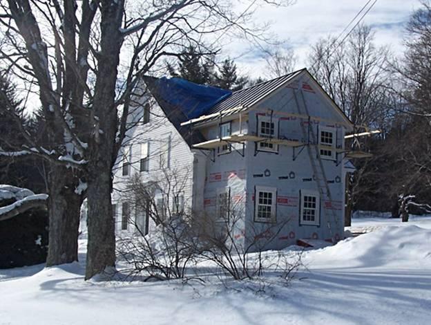 Landgrove Road Home project - Murphy's CELL-TECH, St Johnsbury, VT