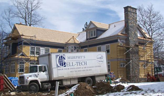 Magnolia Avenue Home project - Murphy's CELL-TECH, St Johnsbury, VT