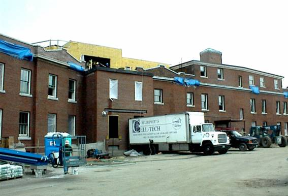 McFarland State Office Building project - Murphy's CELL-TECH, St Johnsbury, VT