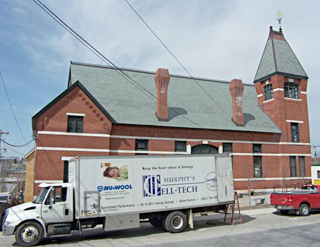 Middlebury Town Hall Theater project - Murphy's CELL-TECH, St Johnsbury, VT
