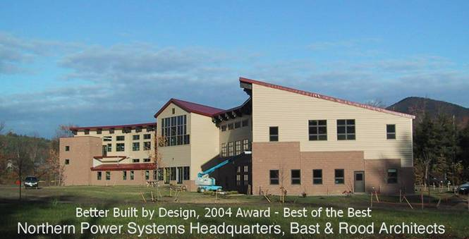 Northern Power Systems project - Murphy's CELL-TECH, St Johnsbury, VT