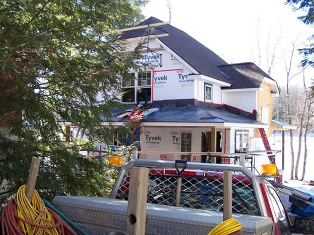 Oak Ridge Road Home  project - Murphy's CELL-TECH, St Johnsbury, VT