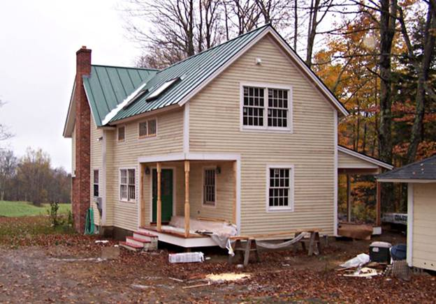 Old Orchard Road Home project - Murphy's CELL-TECH, St Johnsbury, VT