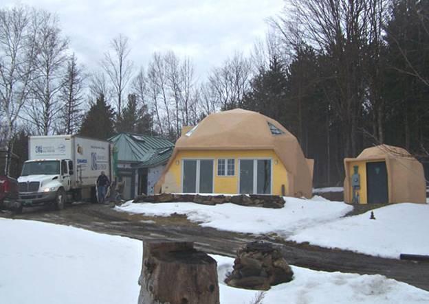 Pierce Hill Home project - Murphy's CELL-TECH, St Johnsbury, VT