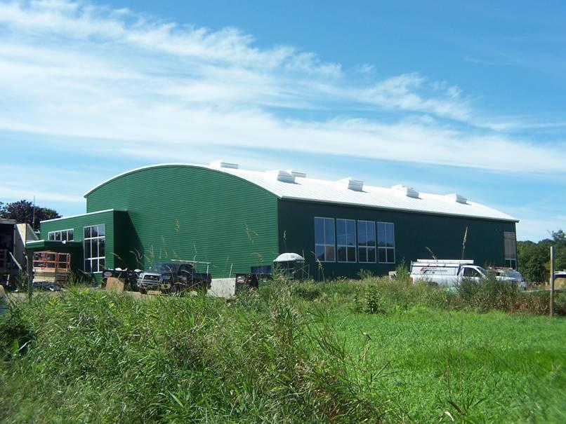 Putney School Field House project - Murphy's CELL-TECH, St Johnsbury, VT