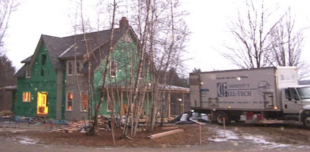 Randall Road Home project - Murphy's CELL-TECH, St Johnsbury, VT