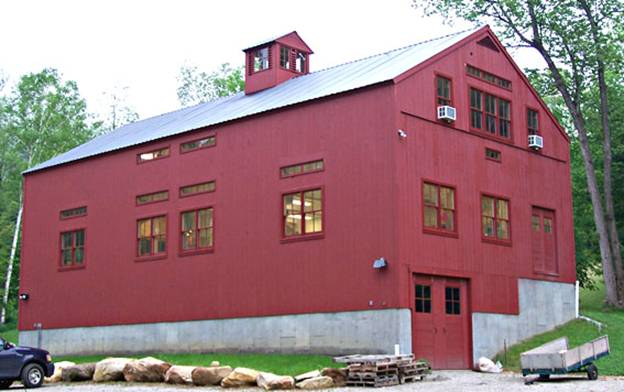 South End Road Workshop project - Murphy's CELL-TECH, St Johnsbury, VT