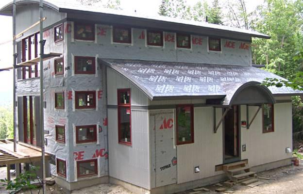 Streeter Pond Home project - Murphy's CELL-TECH, St Johnsbury, VT