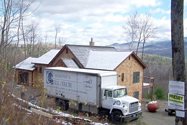 Sugarbush Lane Home project - Murphy's CELL-TECH, St Johnsbury, VT