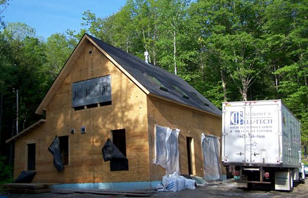 Tucker Hill Road Home project - Murphy's CELL-TECH, St Johnsbury, VT