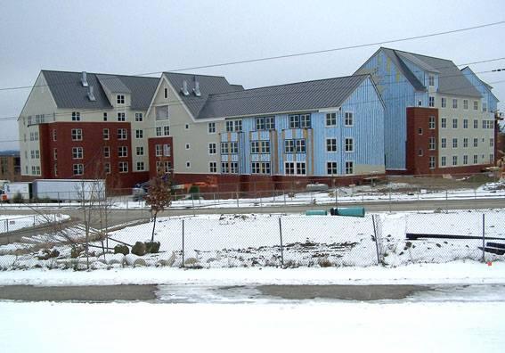 University Heights - University of Vermont project - Murphy's CELL-TECH, St Johnsbury, VT