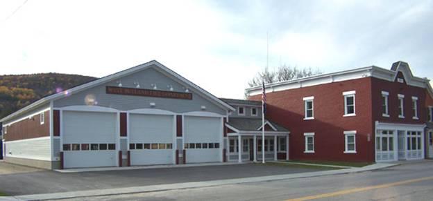 West Rutland Fire Station project - Murphy's CELL-TECH, St Johnsbury, VT