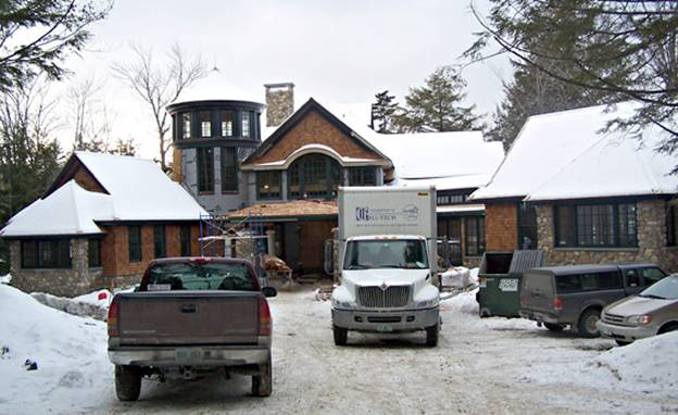 Woodland Road Home project - Murphy's CELL-TECH, St Johnsbury, VT